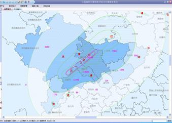 公里格网灾情快速评估与灾情展布系统建设