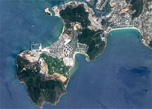 资源三号卫星遥感融合影像产品
